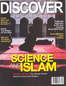 Cover of July 2007 edition of Discover Magazine