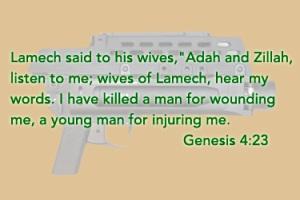 Grenade Launcher and Genesis 4:23