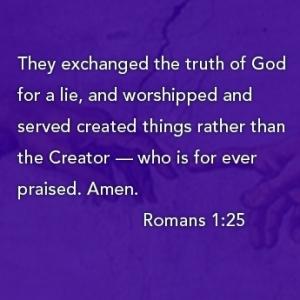 Romans 1:25